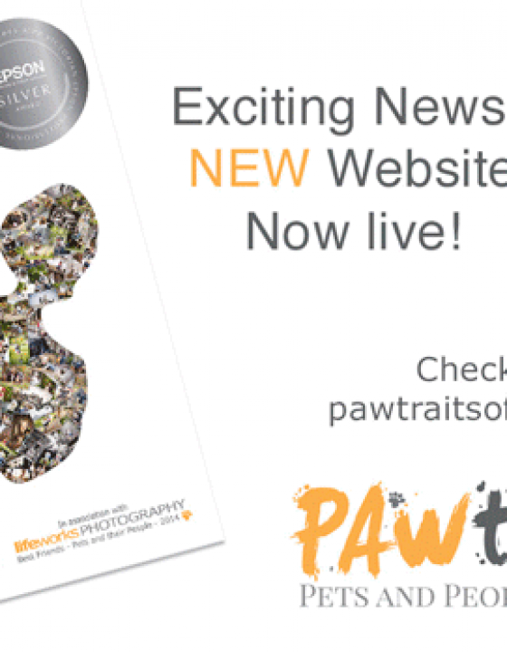PAWtrait's website is now live!
