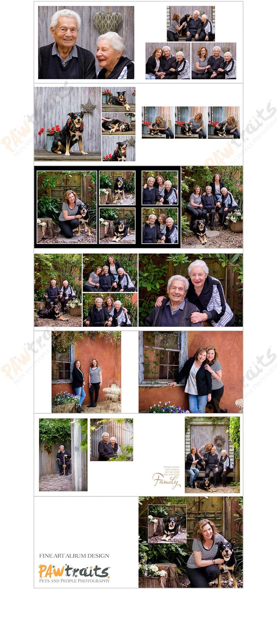 Professional Photography Album Design